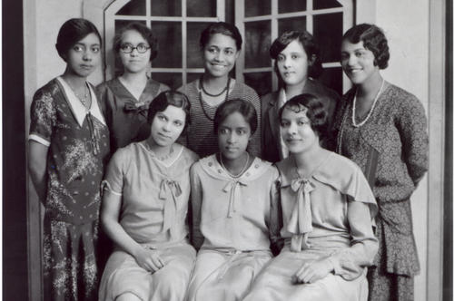 Female students of color