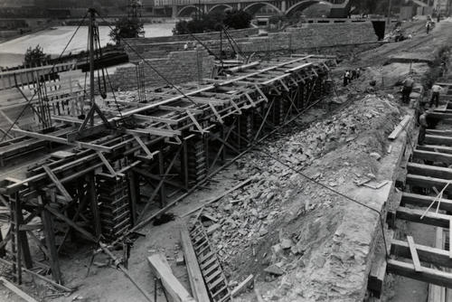 1936 construction of SAFL's supply channel