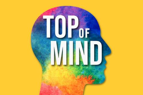 Top of Mind podcast cover art