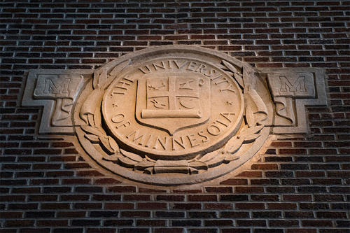 U of M Regents seal preserved from Memorial Stadium